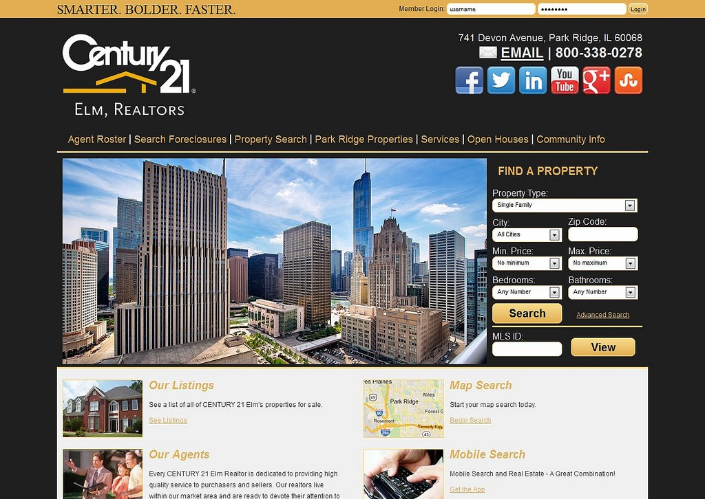 Websites For Real Estate Real Estate Office Website